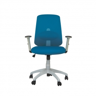 Ghế văn phòng lưới cao cấp Adora Blue